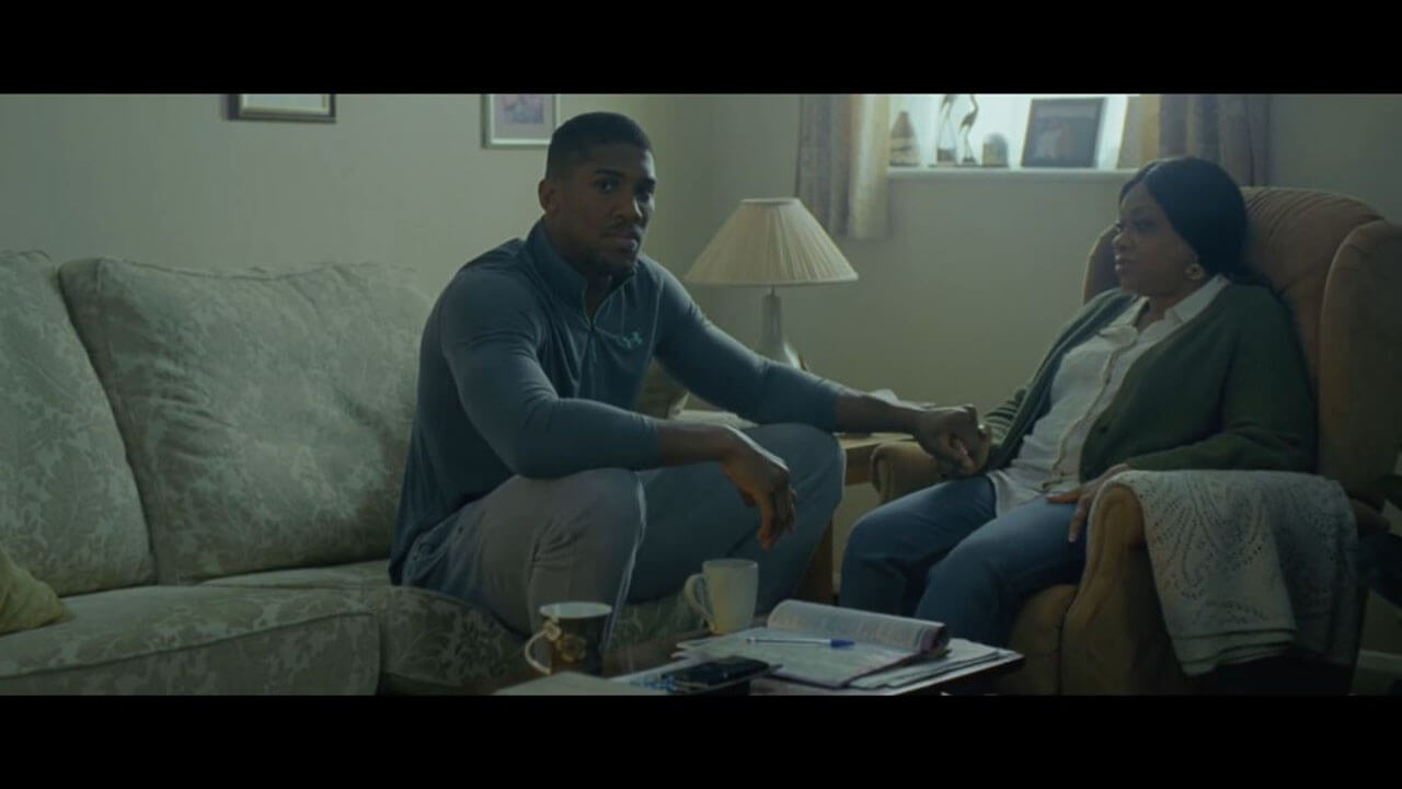 Lucozade Sport Anthony Joshua Made To Move